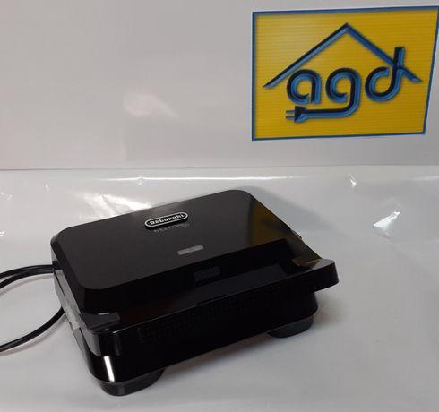 Opiekacz DeLonghi SW12B.BK 800W, wyjmowane płyty + gwarancja