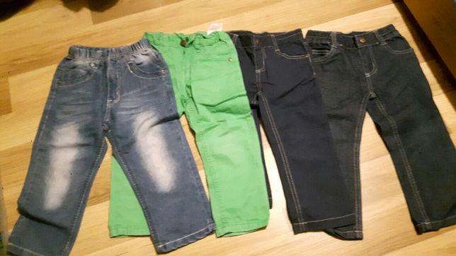 Spodnie jeansy rozm. 86-92