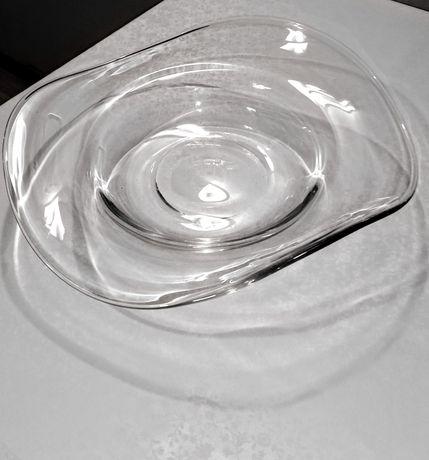 Duży półmisek owocarka 40cm. szklana