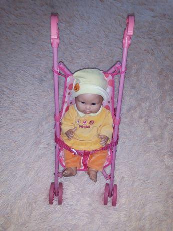 Продам коляску для кукол металлическая, складывается. Есть дефект сзад
