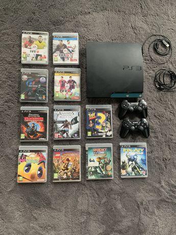 PS 3 + dwa pady oraz 11 ciekawych gier