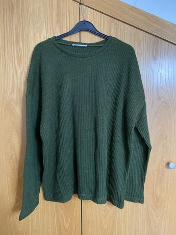 Camisola de malha verde Lefties XL