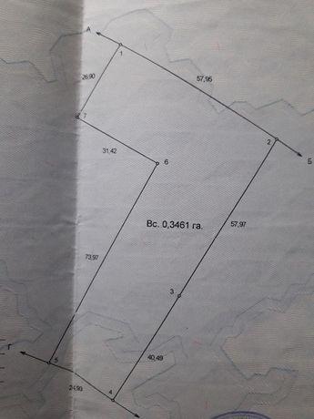 Продам  земельный участок  Бородянский р-н, с.Берестянка 34 сот.