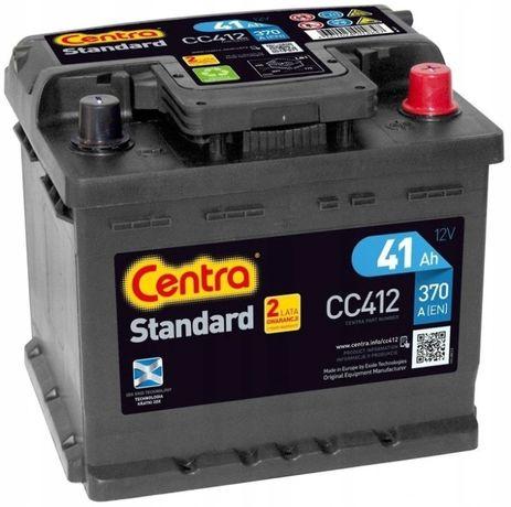 Akumulator Centra Standard CC412 12V 41Ah 370A P+ Kraków EC412
