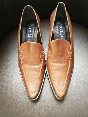 Sprzedam tanio !!! nowe skórzane buty Ryłko rozmiar 37 i 1/2