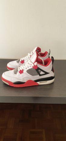 "Jordan 4 ""Fire Red"" (2012)"