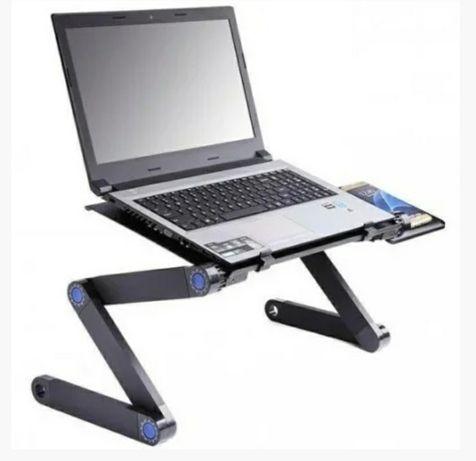 Складной столик для ноутбука Laptop Table T8, столик переносной