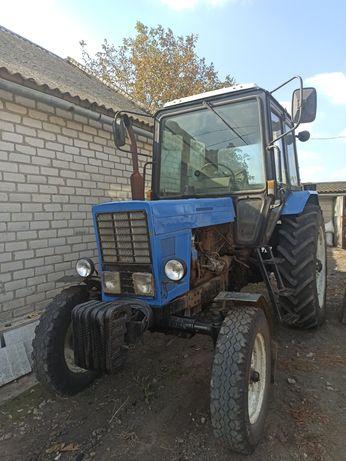 Трактор МТЗ-80. 1991 года.