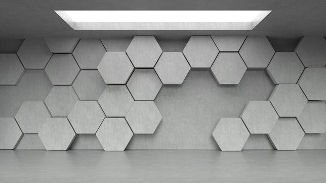 Heksagon Panele Ścienne Panele 3d Hexagon Gliwice