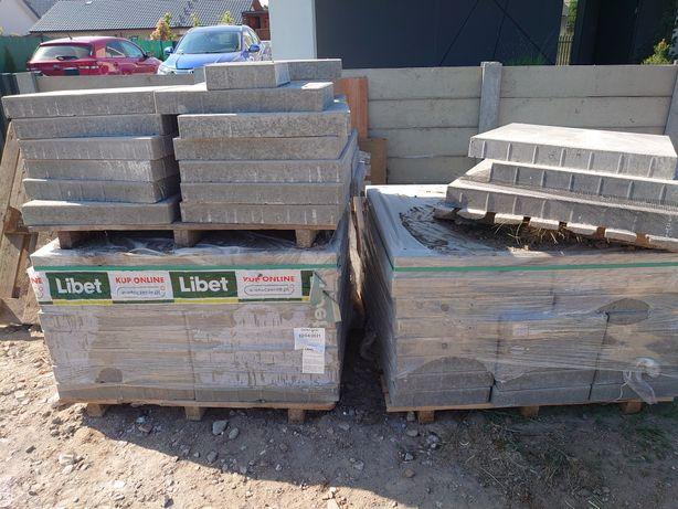 Kostka Libet quadra 60x40 szara