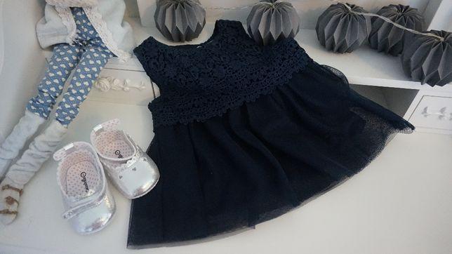 Śliczna sukienka firmy KANZ rozm. 62