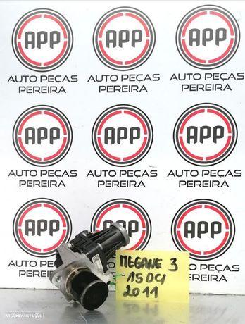 Válvula EGR Renault Megane 3, Clio 3 Kangoo, 1.5 DCI de 2011, sem refrigeração a água.