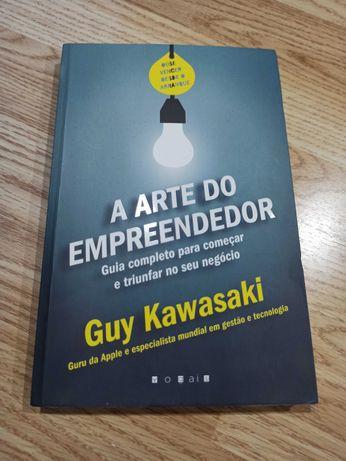 Livro A Arte do Empreendedor, Guy Kawasaki, oferta portes
