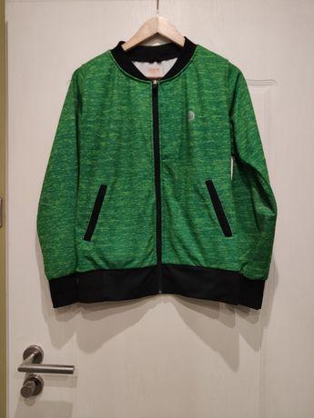 Nessi Sportswear bluza Green melanż M