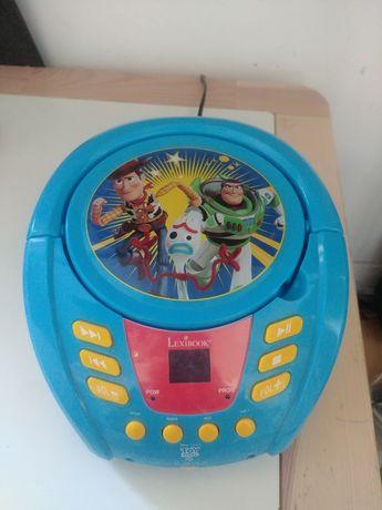 Radio cd boombox dla dzieci Toy Story Lexibook