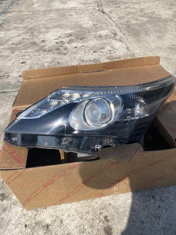Lewa lampa Toyota Avensis T27 lift Led, Bixenon