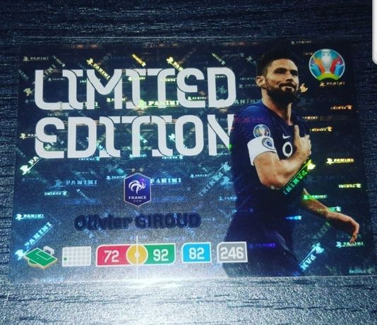 Panini Euro 2020 Limited Edition Olivier Giroud