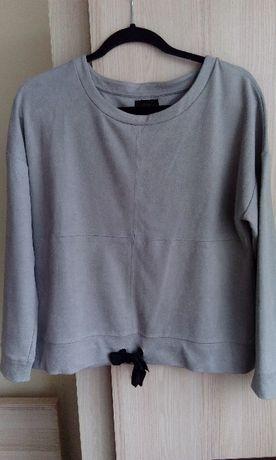 Zamszowa bluza