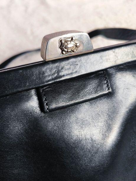 Francesco Biasia кожаная сумка кросбоди оригинал