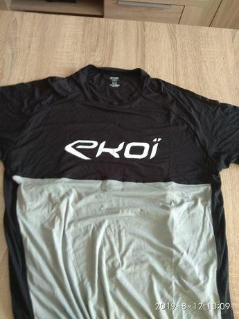 Koszulka rowerowa mtb, cross, EKOI z wlokna bambusowego