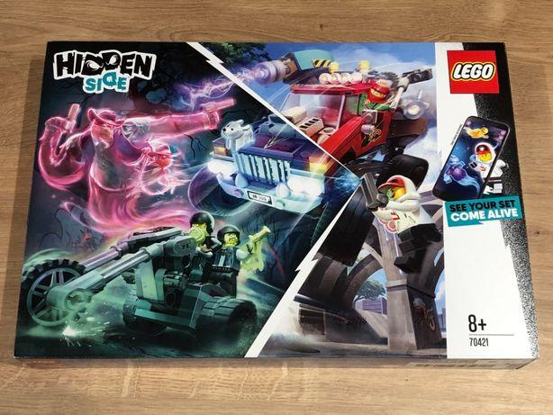 LEGO® 70421 Hidden Side - Samochód kaskaderski El Fuego