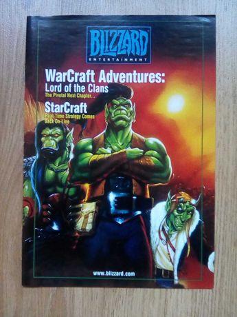 flyer blizzard Diablo Starcraft Warcraft 1997