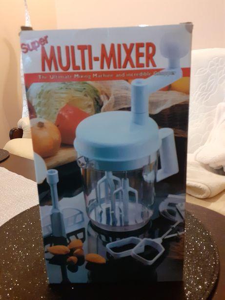 Mixer ręczny biały