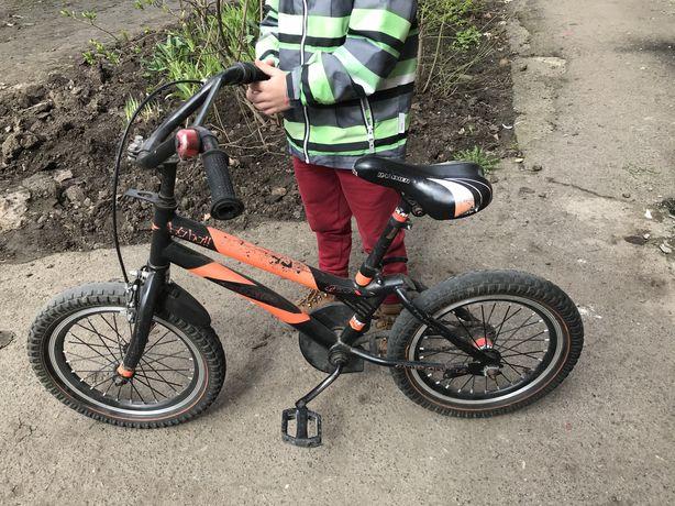 Детский велосипед 16 колеса