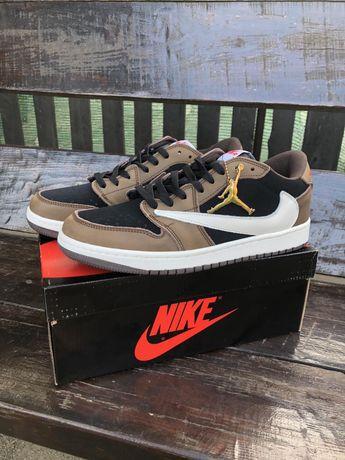 Кроссовки Nike Air Jordan 1 Retro High x Travis Scott Ха