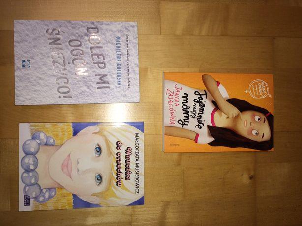 Książki młodzieżowe: Tajemnice mojej mamy, Wnuczka do orzechów, Dolep
