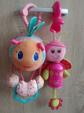 Zestaw Zabawki zawieszki tiny love bright stars dla dziewczynki