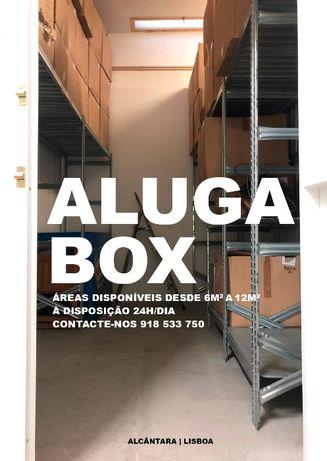 Aluga Arrecadação/Box Self Storage Alcântara Lisboa