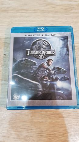 Jurassic world 3D/2D PL 2xBlue Ray