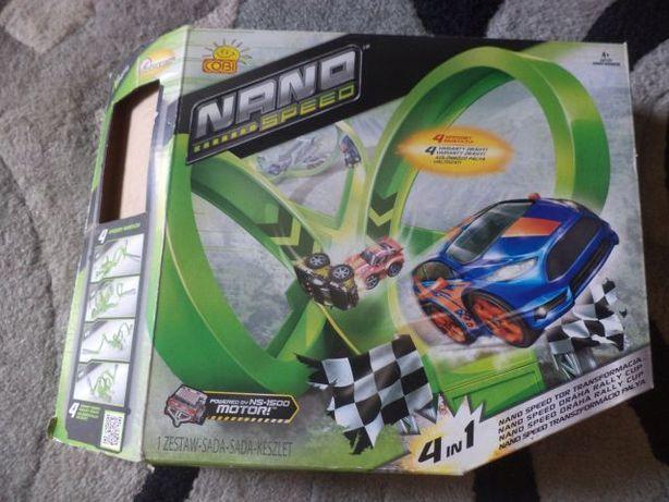 Cobi Nano Speed 4w1 + 2 auta + nowa wyrzutnia