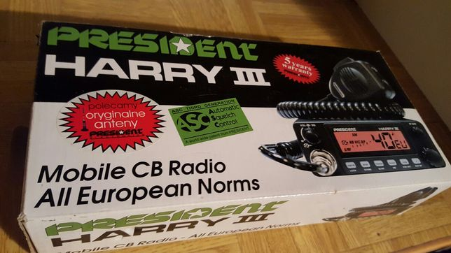 CB Radio President  Harry III.  3