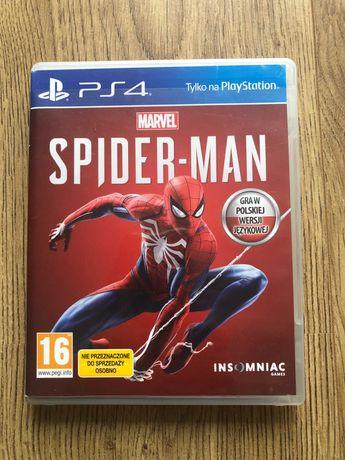 Spiderman PS4. Polska wersja językowa.