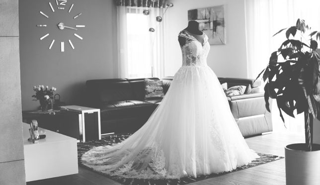 Suknia ślubna: 1943 Vanilla Sposa - klasyczna księżniczka z gorsetem