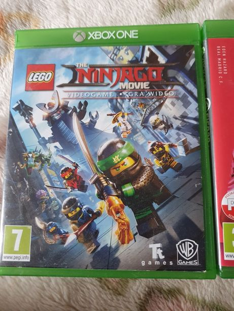 Gra na Xbox One Ninjago movie