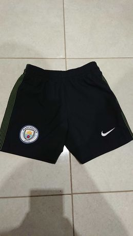 Ман сити шорты Nike (детские, оригинал Manchester )