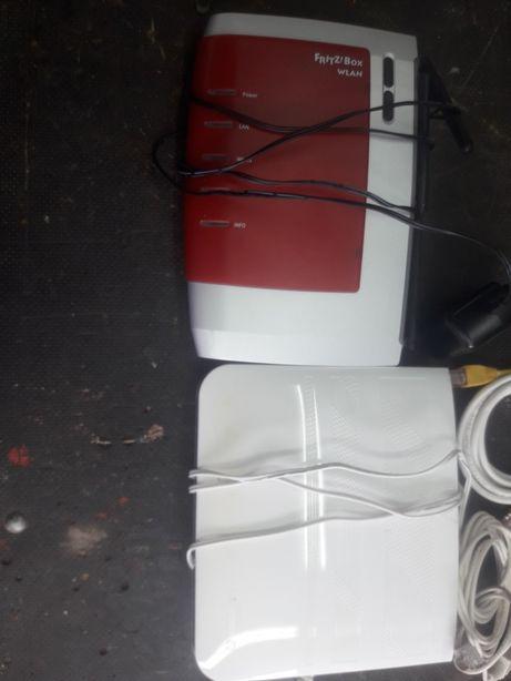 Modem router fritzbox vodafone 2 szt