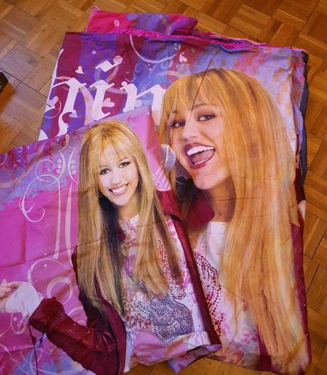 Kpl. pościeli Hannah Montana 160x200