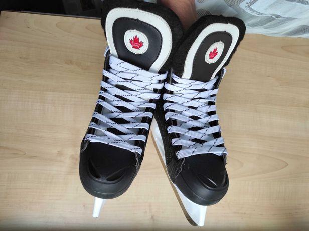 Коньки хоккейные Canada 3300, размер 38