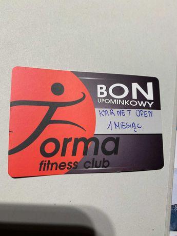 Karnet na siłownię Fitness Forma Sieradz