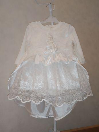 Платье девочке на крещение