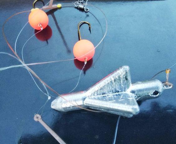 Снасти для ловли пиленгаса на море очень уловистые от 80 до 170г