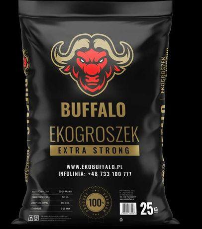 EKOGROSZEK wysokoenergetyczny BUFFALO 25kg 26-28 Mj/kg, siarka 2-3%