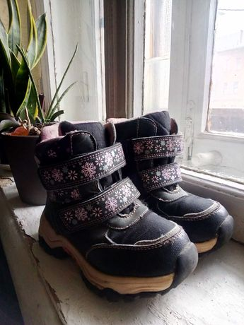 Зимние термо ботинки 28р.