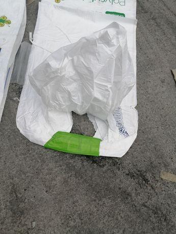Big Bag z wkładem foliowym ! Nowy worek ( 143 cm wysokości)
