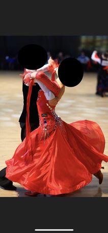 Платье для бальных танцев стандарт юниоры