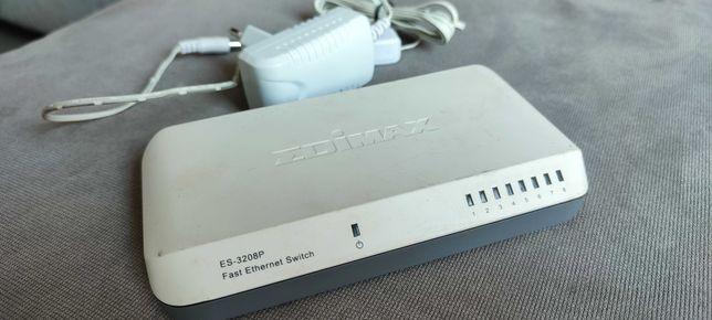 Коммутатор 8 портов свитч Edimax ES-3208P хаб